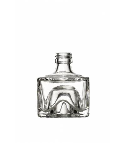 Stapelflasche eckig 40 ml