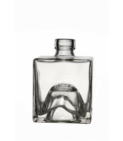 Stapelflasche eckig 100 ml