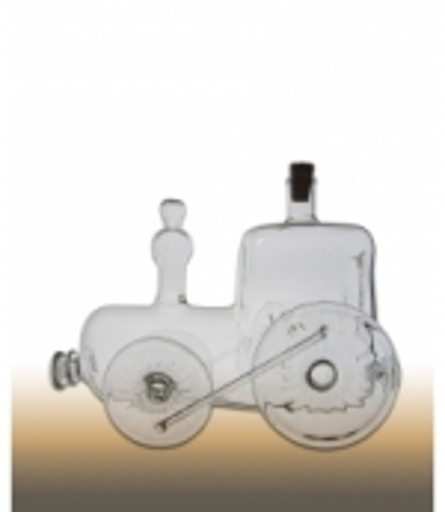 Lokomotive mit Kamin