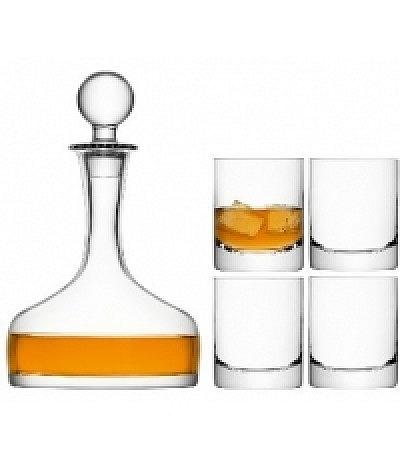 Bar Karaffe&Whiskygläser Set