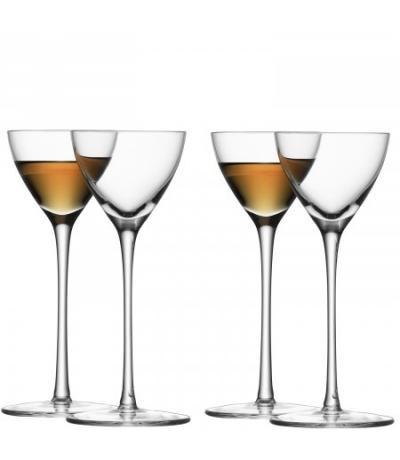 Likörglas 100 ml - klar 4er Set