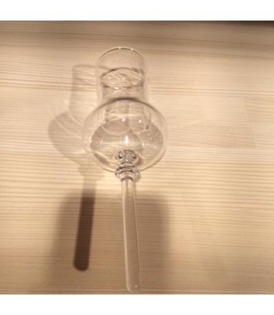 Glas ohne Fuss